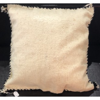 almohada de lana artesanal arabe