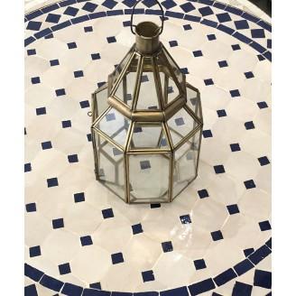 lampara de laton colgante o sobre mesa