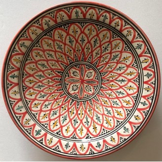 plato de ceramica 40 cm