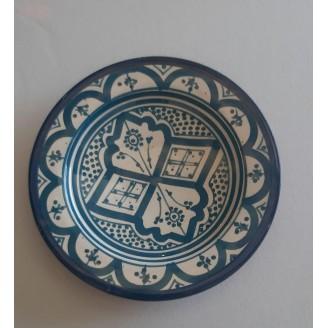 plato de ceramica 17 cm