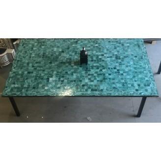 mesa de mosaco grande 2,50x1,50x76