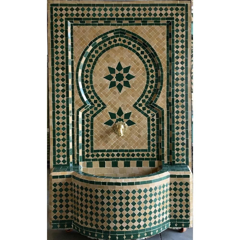 fuente artesanal arabe marroqui 120x79x30