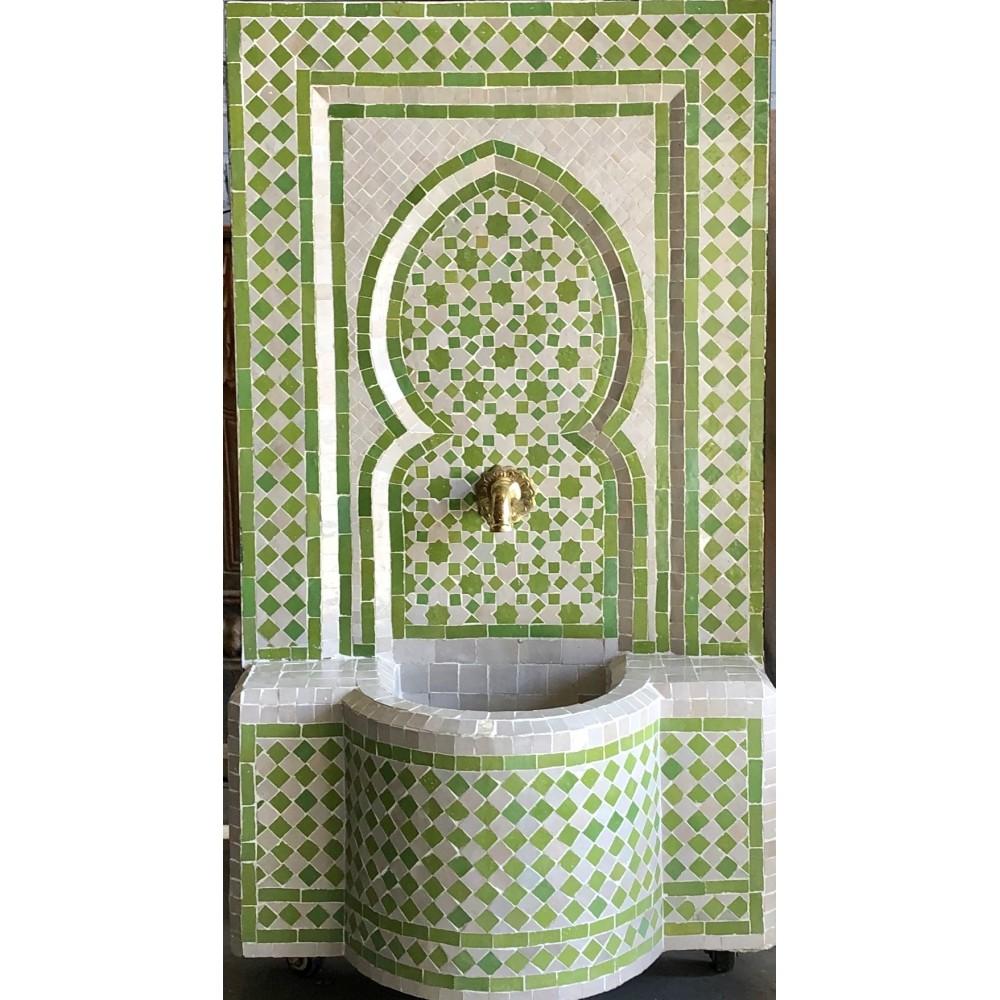 Fuente de mosaicos artesanal arabe marroquí 106*62*30