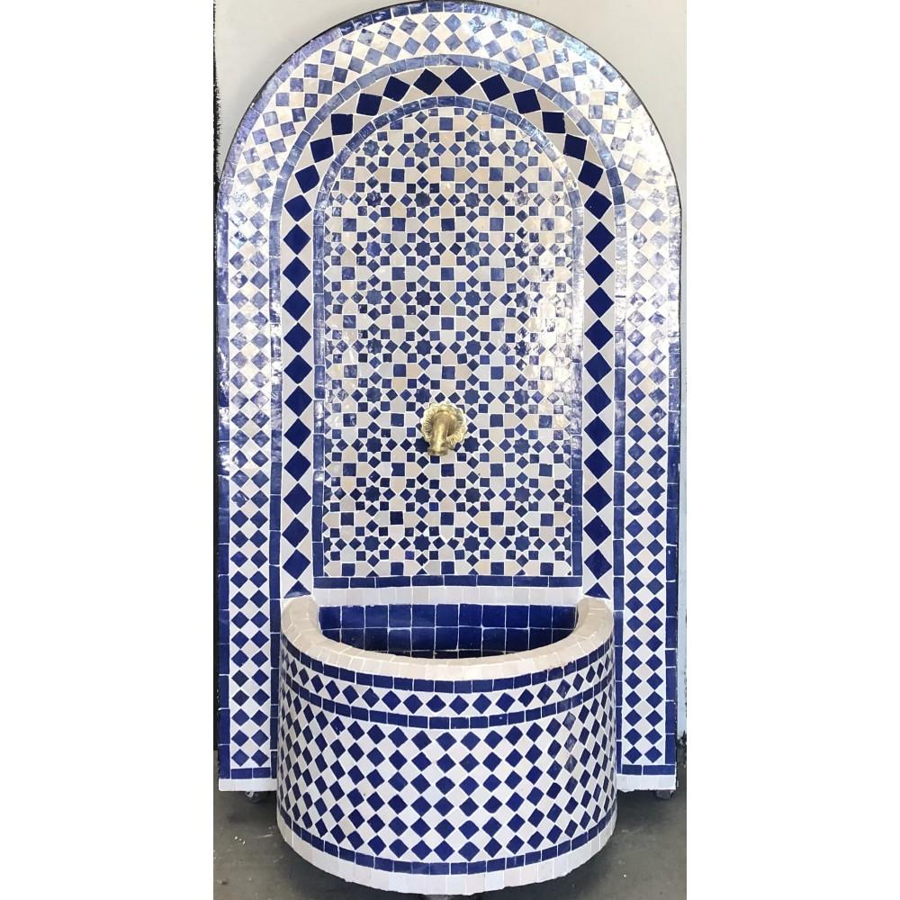 Fuente de mosaicos artesanal arabe marroquí 120*76*30