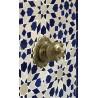 Fuente de mosaicos artesanales árabes marroquí  1,23x68x29