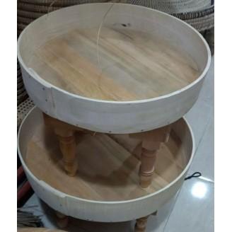 Mesita de madera de 60 Cm