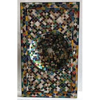 Lavabo de mosaicos...