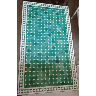 Mesa de mosaico artesanal...
