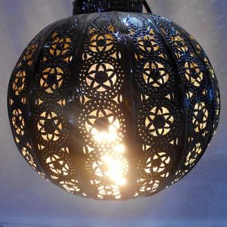 lamparas de forja cristal 25 altura x 25 diámetro