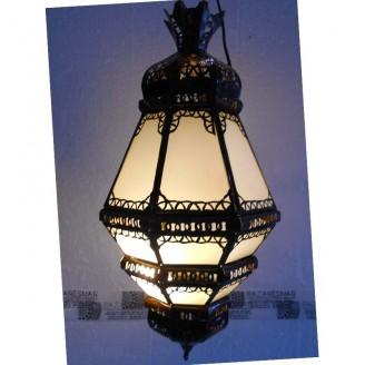 lamparas de forja cristal 54 alto x 28 diámetro