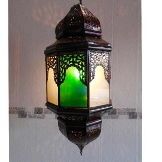 lamparas de forja cristal 70 alto x 30 diámetro