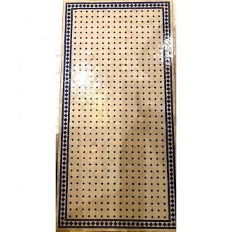 Mesa de mosaico artesanal árabe 90x1,60