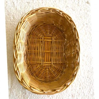 Plato de mimbre 17 diámetro 6 centímetro de fundó