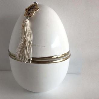 Juego de Huevos de tadalakt con un colgantes de manos de Fatima