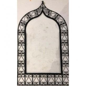 Espejo de forja sin espejo